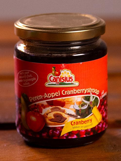 Canisius Peren-Appel Cranberrystroop