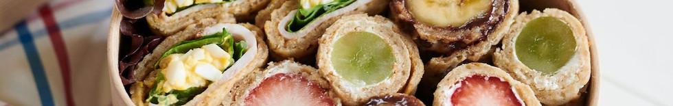 Oatisans Staffordshire Oatcakes - Super Bento!