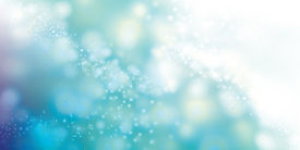 Blue Sparkle Background Image