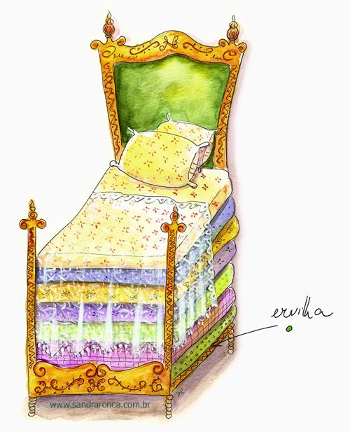 A princesa e a ervilha, segundo testemunhas oculares da história
