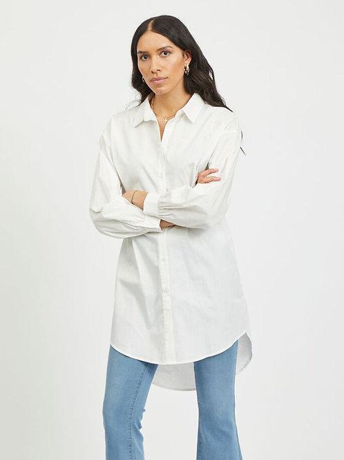 Robe chemise surdimensionnée