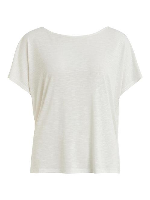 T-shirt col rond dos échancré