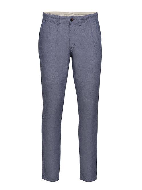Pantalon homme chino bleu