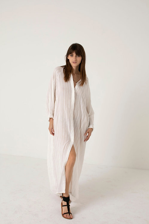 Longue robe blanche - Charlie Joe