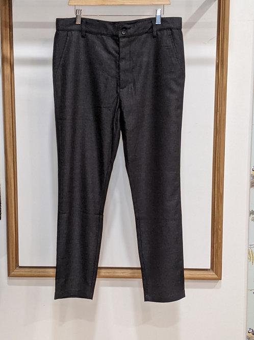 Pantalon homme laine gris