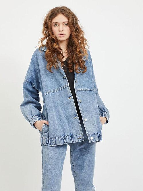 Veste en jeans coupe oversize