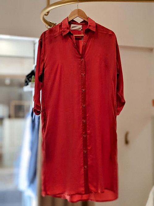 Robe chemise longueur midi - Charlie Joe