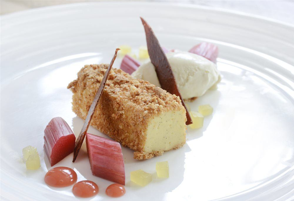 Try our rhubarb deserts
