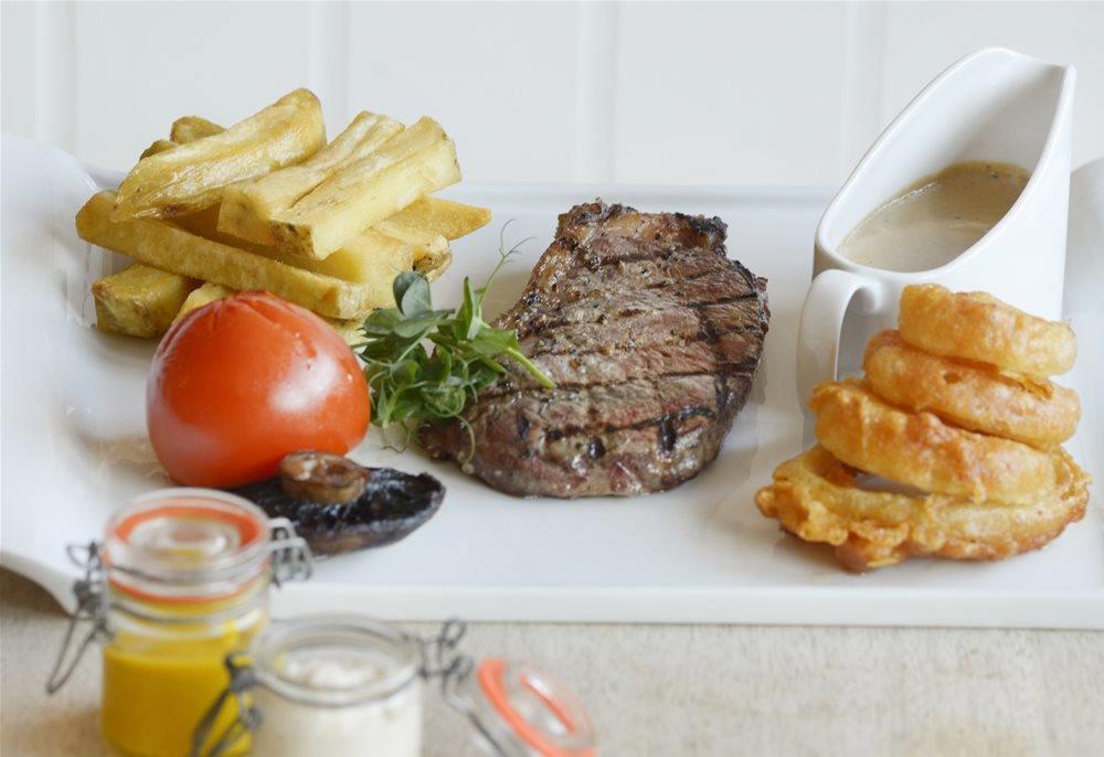 Steak Night in the restaurant