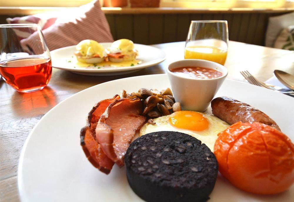 Kick start your day with a hearty breakfast