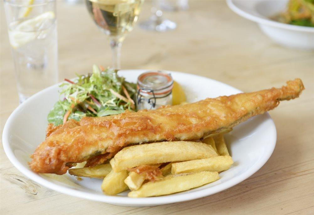 Nothing beats our fish and chips