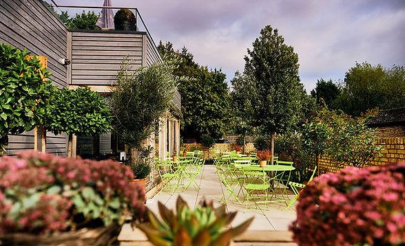 Terrace at The Rupert Brooke, Grantchester