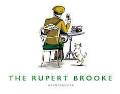 The Rupert Brooke, Grantchester, logo