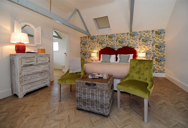Bedrooms at The Globe Inn