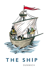 The Ship at Dunwich logo