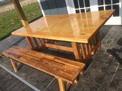 Butternut Picnic Table