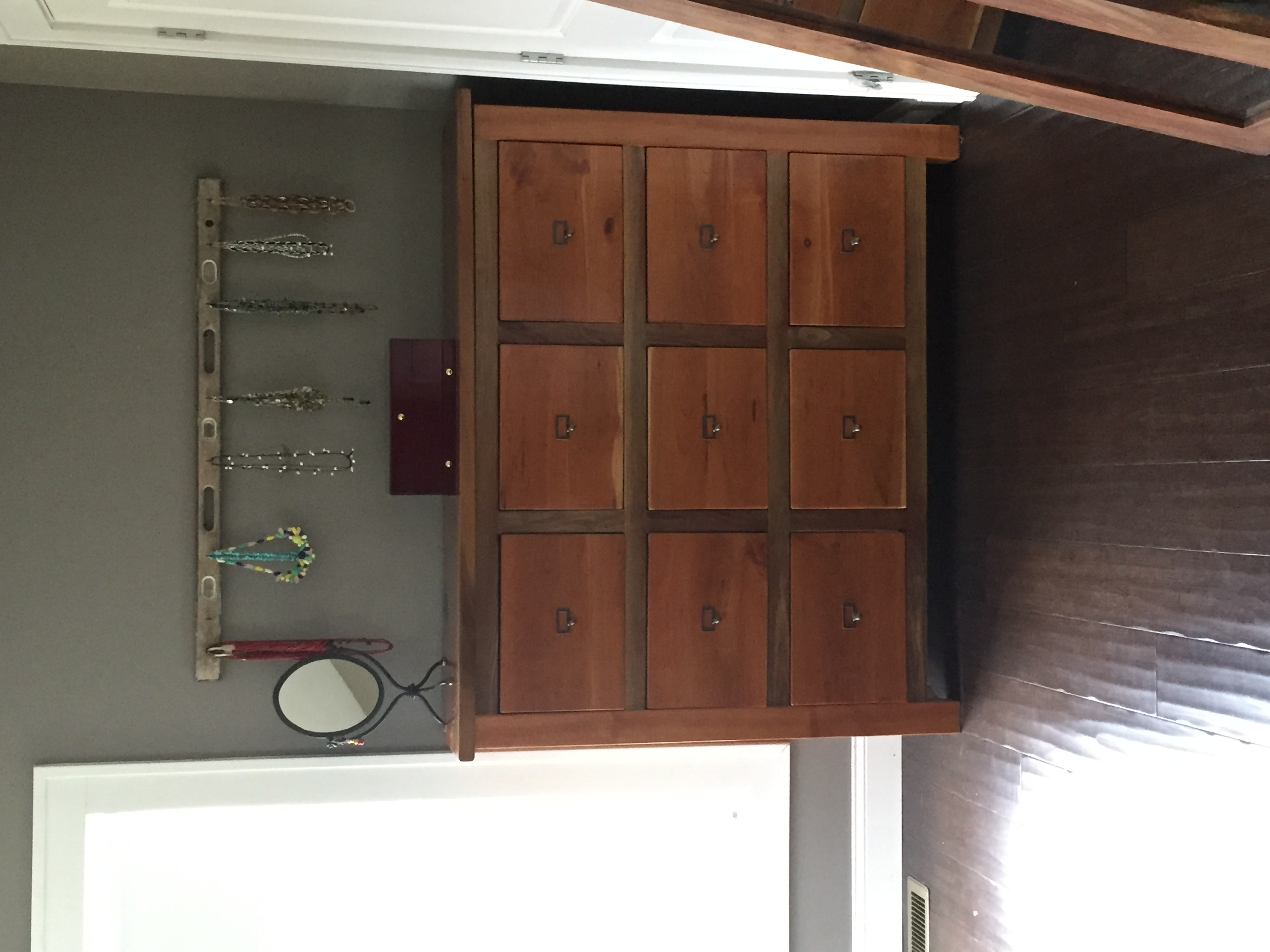 Cherry & Walnut Dresser