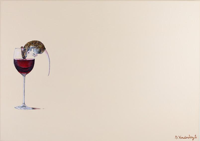 Het glas is halfvol.