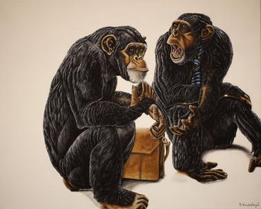 No monkey business.