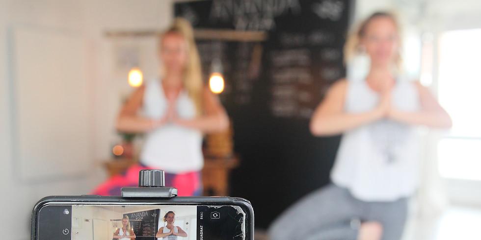Live Stream - Yin Yoga mit Nadja 60 Min