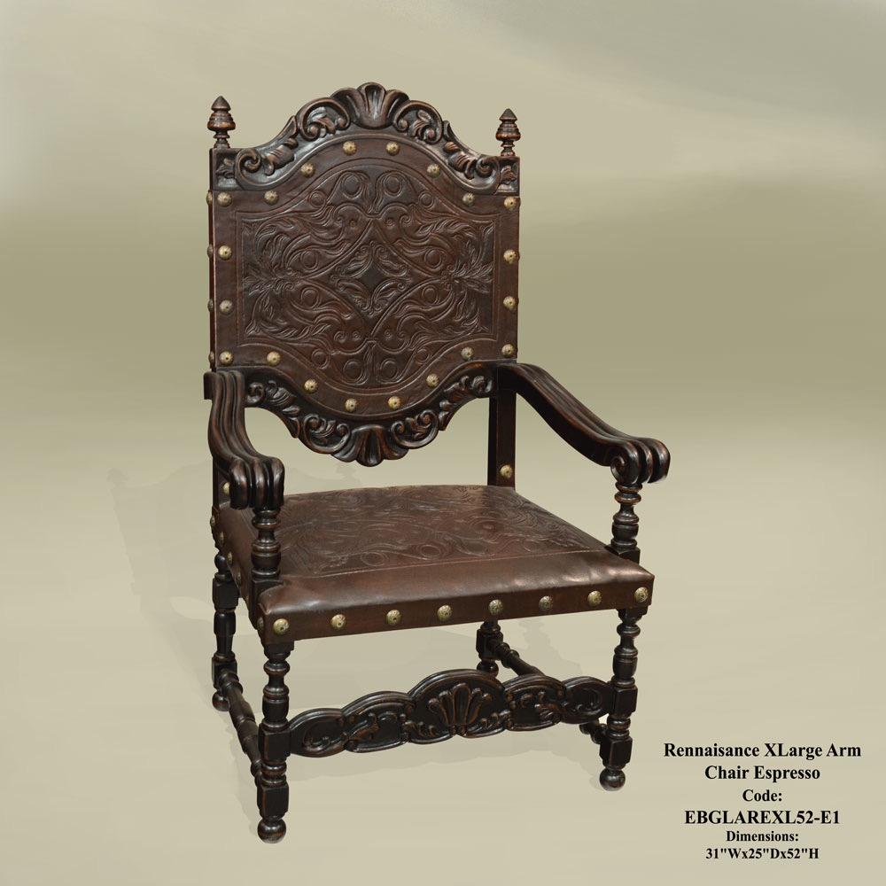 DC9118 Renaissance Xlarge Arm Chair
