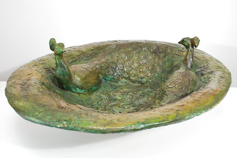 Va-134 Peacock Bowl
