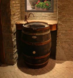 Barrel Sink