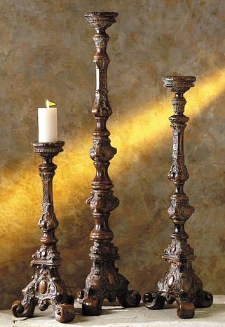 Mediterranean Candle Holders