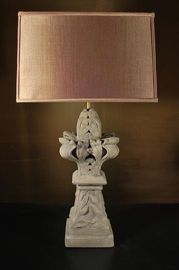 Architectural Pediment Lamp