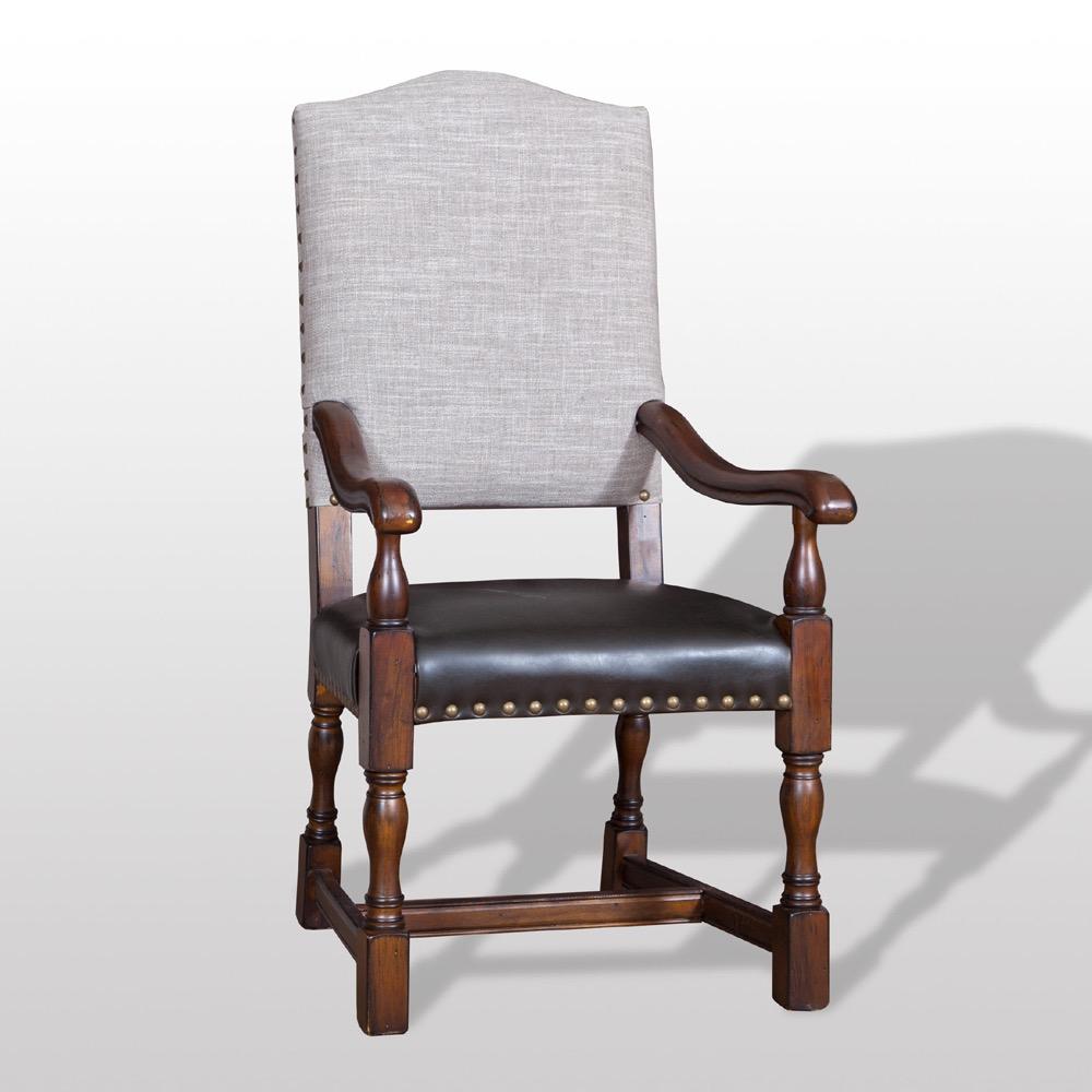 DC 9130 Jacobean Chair Arm Chair