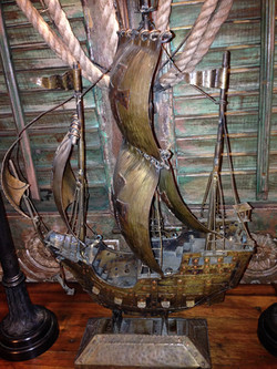 Metal Tall Ship