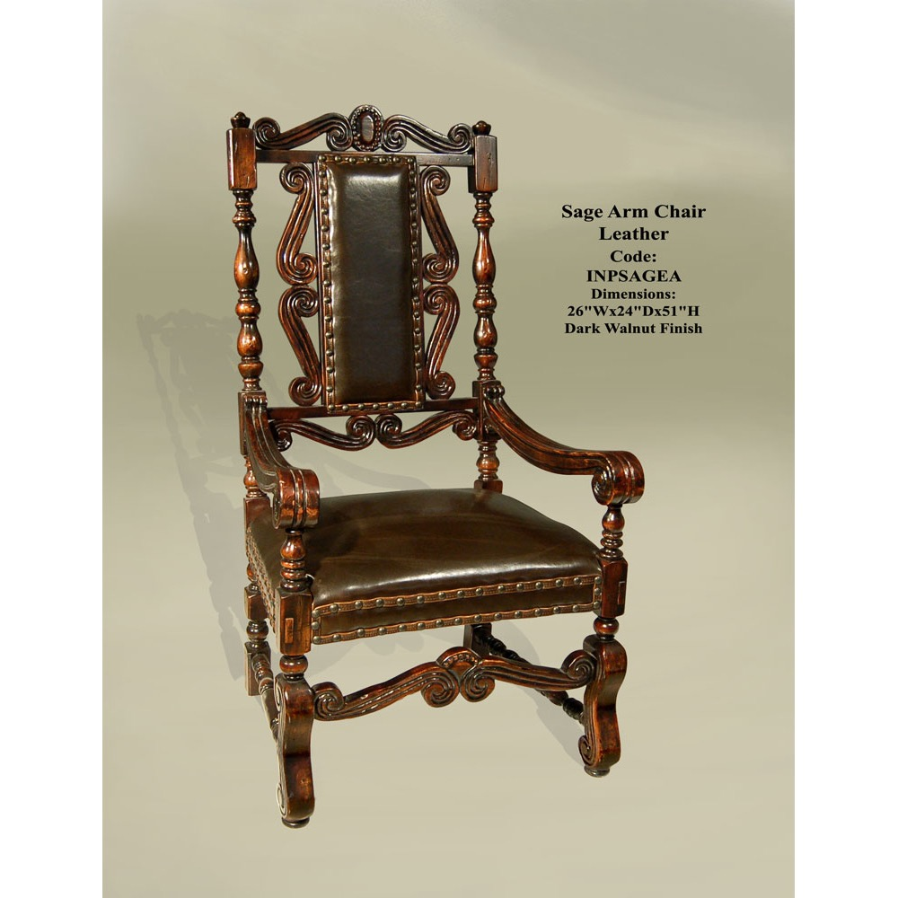 DC 9116 Sage Arm Chair