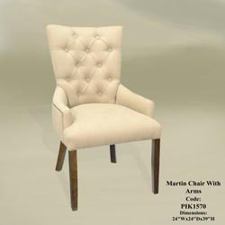 DC 9125 Martin Arm Chair