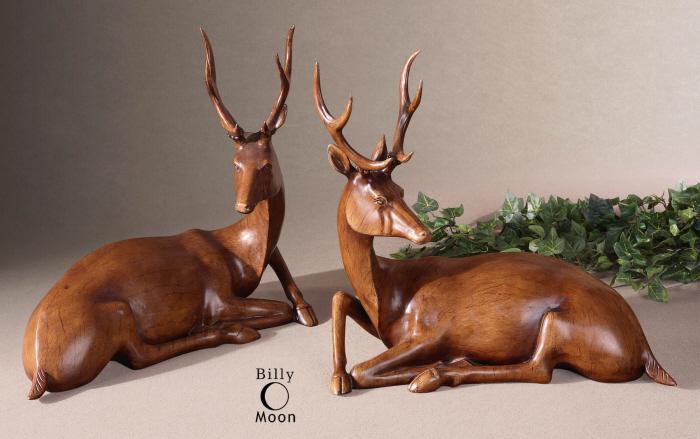 Buck Statues