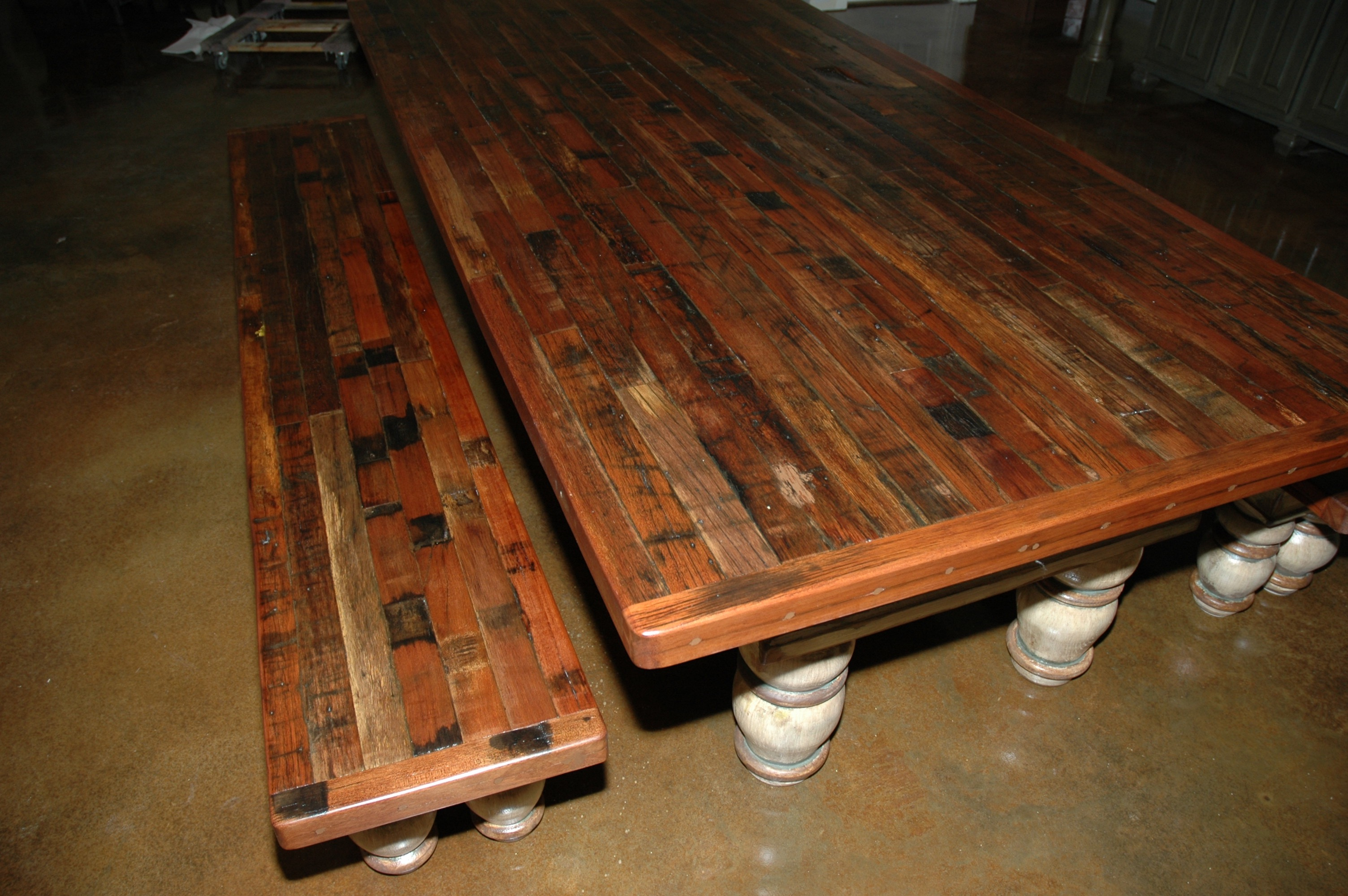 Mahogany-Reclaimed from Railroad Car