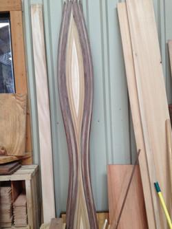 Walnut, maple, mahogany, alder, oak