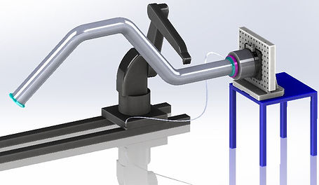 Robot painting arm integration