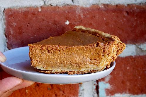 Spiced pumpkin tart