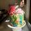 Thumbnail: Blending flowers cake