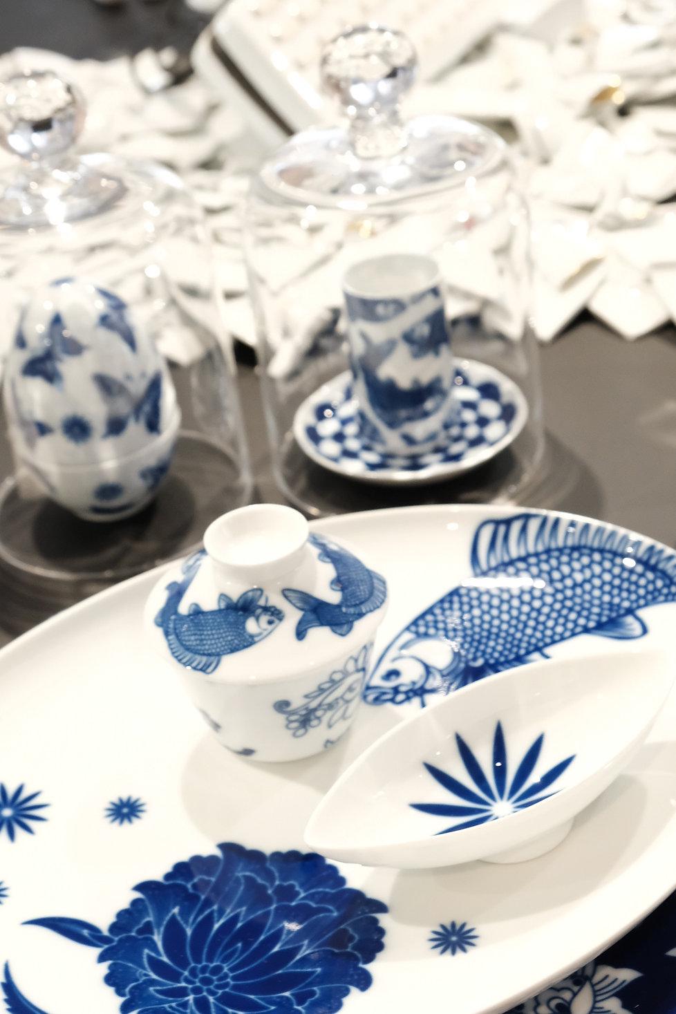Fürstenberg Porzellan - Ausstelung Porcelain Couture