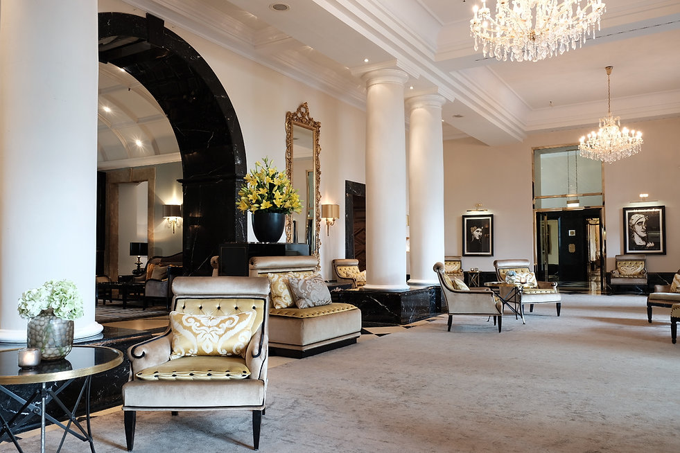 Lobby im Grandhotel Schloss Bensberg