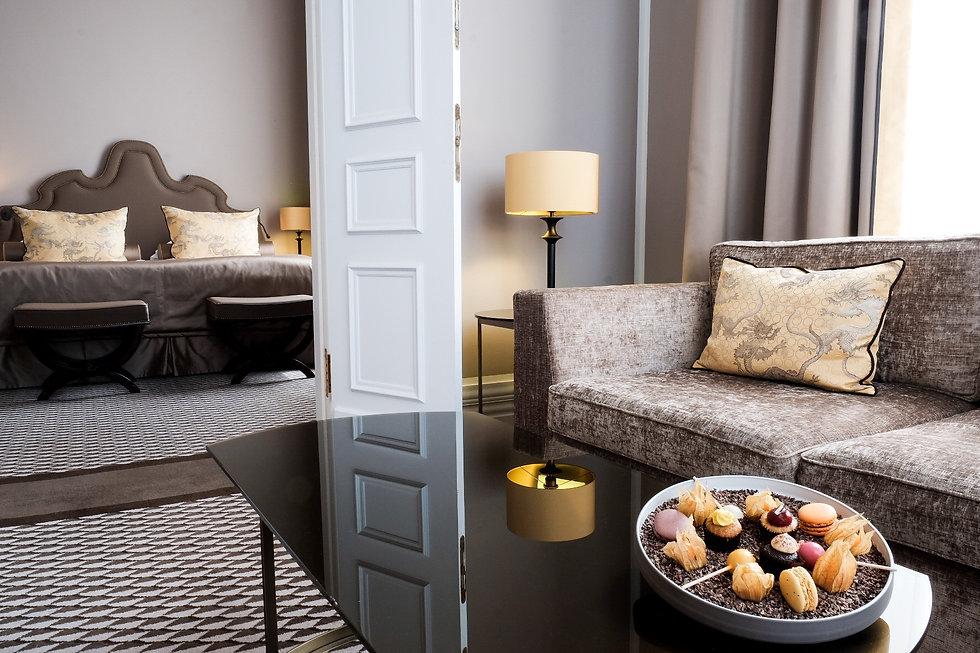 Domsuite im 5-Sterne-Hotel Schloss Bensberg