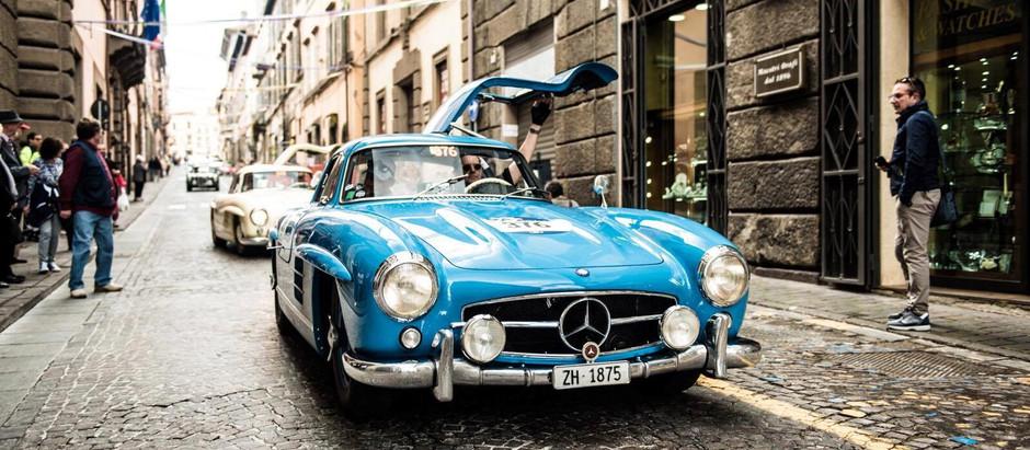 Mille Miglia - die legendären 1000 Meilen von Brescia nach Rom und zurück