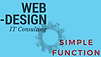 Simple Function Web Design affording you simple beautiful functional web presense