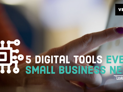 5 Digital Tools Every Small Business Needs