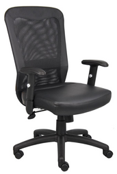 Task-Synthetic-Leather-Mesh-Chair