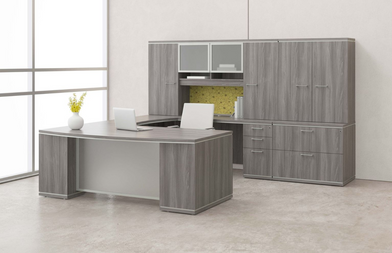 Desk-Sets-L-Shaped-Round-Cabinets-Bookcases-1