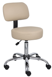 Stools-Synthetic-Leather-Round-Chair
