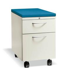 Pedestal-Cabinets-Metal-Fabric