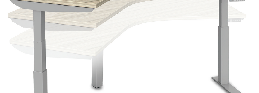 Adjustable-Height-Desk-L-Shaped
